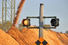 Luci d'avvertimento industriali Fotografie Stock