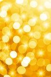 Luci defocused arancio con le stelle utili come fondo Buon per le progettazioni o la struttura del sito Web Fotografia Stock Libera da Diritti