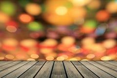 Luci defocused multicolori del bokeh Fotografia Stock