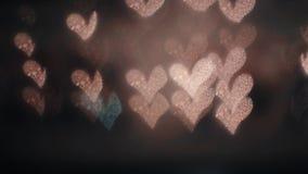 Luci Defocused nella notte video d archivio
