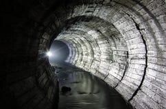 Luci del fiume sotterraneo Fotografia Stock Libera da Diritti
