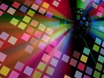 Luci del pavimento della discoteca Fotografia Stock Libera da Diritti