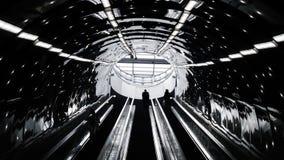 Luci del sottopassaggio Fotografia Stock