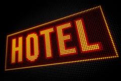 Luci dell'hotel Fotografie Stock