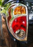 Luci della coda dell'automobile Fotografia Stock