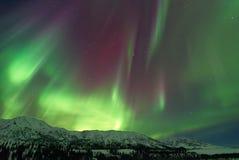 Luci di Aurora Borealis Northern Fotografia Stock