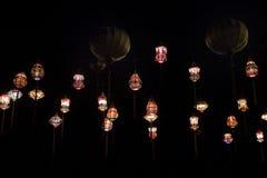 Luci di carta asiatiche di lampion immagini stock libere da diritti