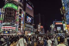 Luci di Kabukicho, Tokyo, Giappone immagini stock libere da diritti