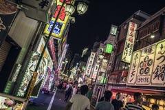 Luci di Kabukicho, Tokyo, Giappone immagini stock