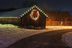 Luci di Natale fotografia stock
