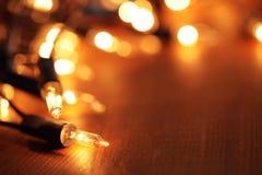 Luci di Natale Immagini Stock Libere da Diritti