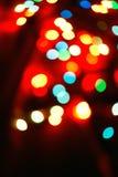 Luci di Natale Immagini Stock