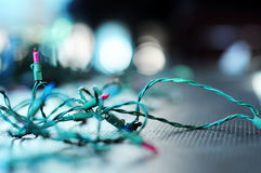Luci di Natale Immagine Stock Libera da Diritti