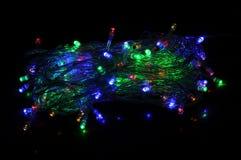 Luci di Natale Fotografie Stock