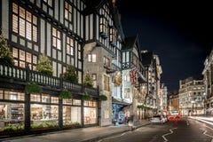 Luci di Natale 2016 in Carnaby, Londra fotografia stock libera da diritti