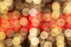 Luci di Natale Defocused Fotografia Stock Libera da Diritti