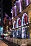 Luci di Natale di Londra Immagine Stock