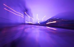Luci di velocità Fotografie Stock