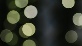 Luci festive del nuovo anno o di Natale archivi video