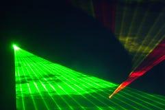 Luci laser Fotografia Stock Libera da Diritti
