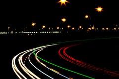 Luci notturne Fotografia Stock