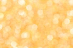Luci su fondo arancio Immagini Stock