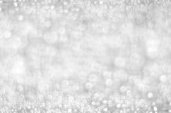 Luci su fondo grigio Fotografie Stock