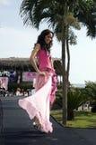 Lucia cevallos contestant beauty contest Stock Photo