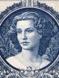 Lucia Lendvay-portret Royalty-vrije Stock Fotografie