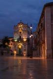 Lucia santa e l'alberino della lampada, Ortigia, Sicilia immagini stock libere da diritti