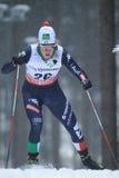 Lucia Scardoni - esqui do corta-mato Foto de Stock