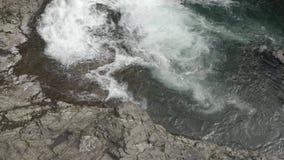 Lucia valt waterdaling stock footage