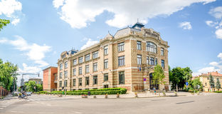 Lucian Blaga Central University Library in Cluj Royalty Free Stock Images