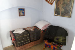 Lucian Blaga Memorial House imagem de stock royalty free
