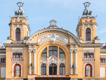Lucian Blaga National Theatre in Cluj Stock Images