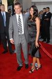 Luciana Barroso,Matt Damon Royalty Free Stock Photography
