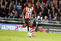 Luciano Narsingh PSV Eindhoven Stock Photo