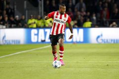 Luciano Narsingh PSV Eindhoven Stock Image