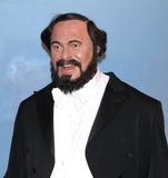 Luciano Pavarotti na senhora Tussaud Fotografia de Stock Royalty Free