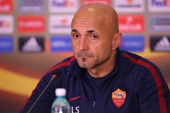 Luciano Spalletti Royalty Free Stock Photography