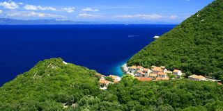 Lucica, Insel Lastovo, Kroatien Stockbild