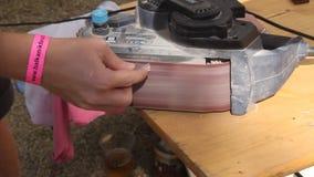 Lucidatura dell'artigiano archivi video