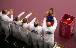 Lucie Hradecka - copo 2010 de Fed imagem de stock royalty free