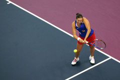 Lucie Hradecka - Fed Cup 2010 Stock Image