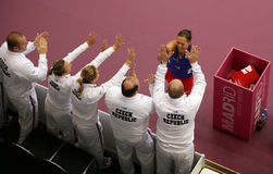 Lucie Hradecka - Fed Cup 2010 Royalty Free Stock Image