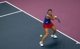 Lucie Hradecka - Fed Cup 2010 Royalty Free Stock Images