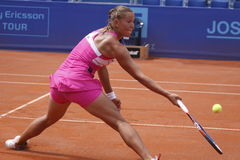 Lucie Hradecka in WTA Prague open Royalty Free Stock Images