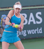 Lucie SAFAROVA at the 2009 BNP Paribas Open. Tennis tournament, in Indian Wells, California Stock Image