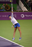 Lucie Safarova. DOHA-QATAR: FEBRUARY 17: Tennis Player Lucie Safarova at Qatar Total Open on February 17, 2012 in Doha, Qatar. The event was held from February stock image