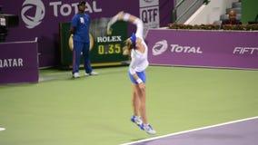 Lucie Safarova stock video footage